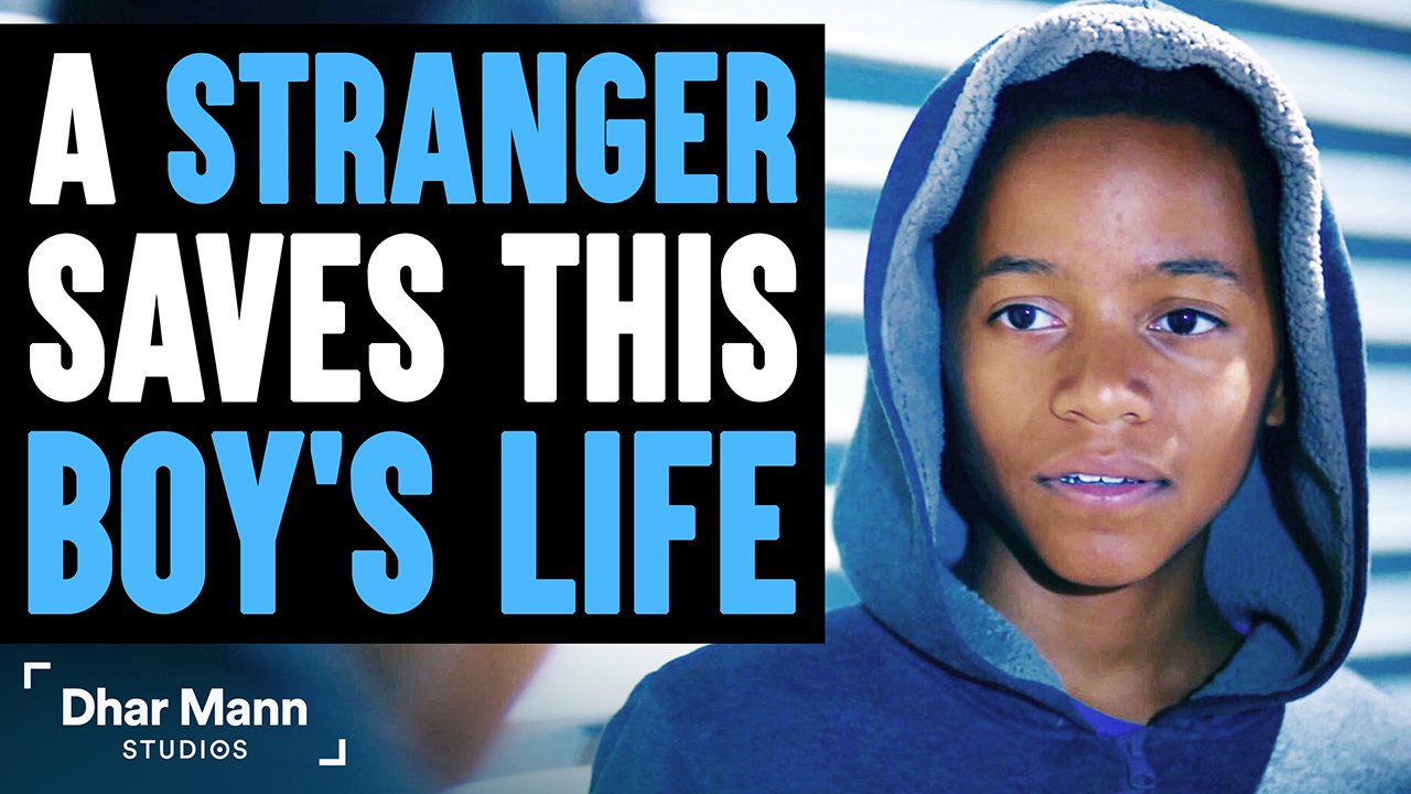 Stranger Saves This Boy's Life, What He Does Will Shock You