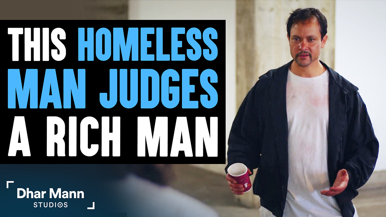 Homeless Man Judges Rich Man Then Finds Out A Big Surprise