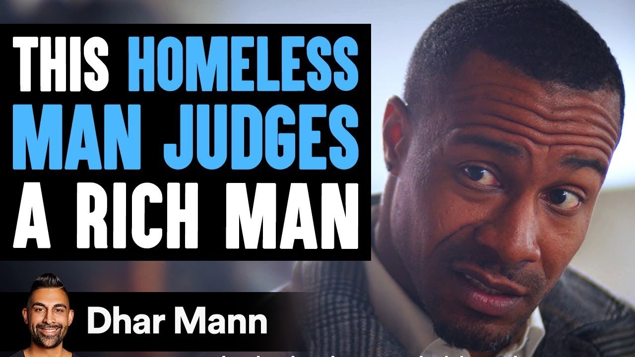 Homeless Man Judges Rich Man Then Finds Out A Big Surprise