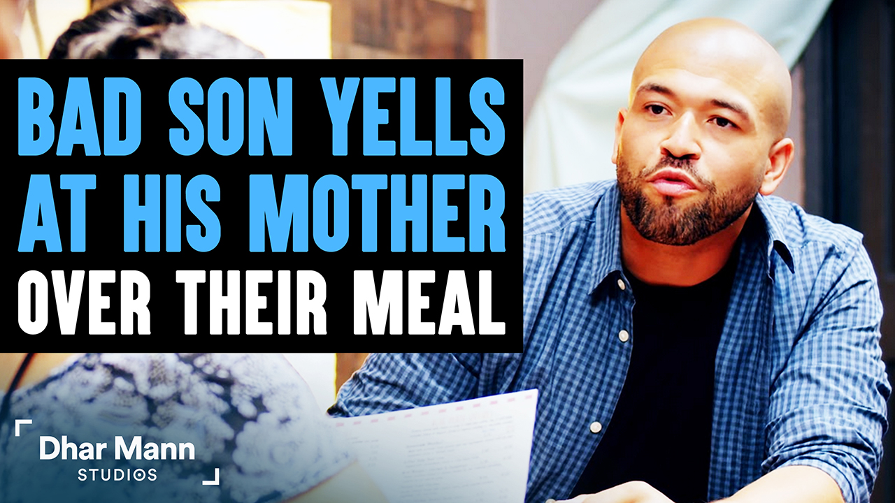 Bad Son Yells At His Mom, Good Son Teaches Him A Lesson