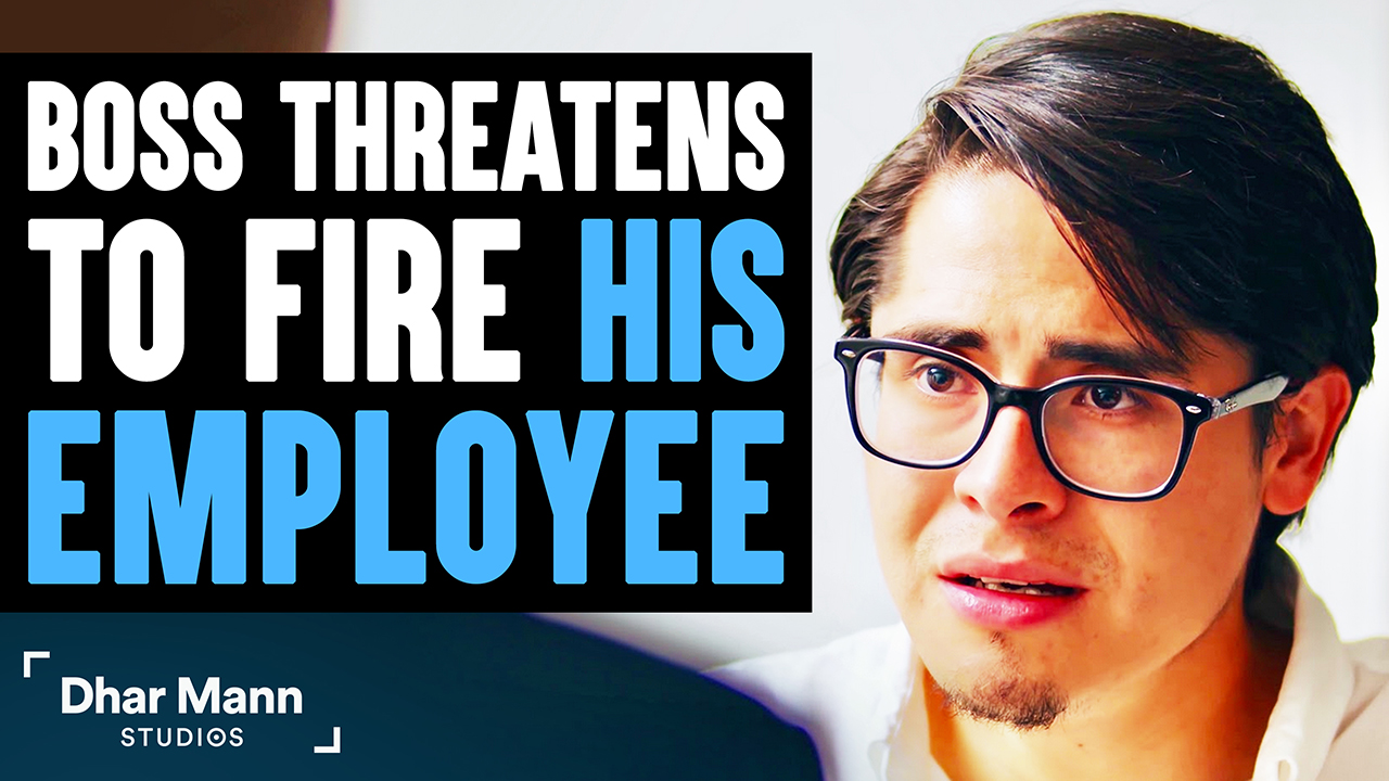 Boss Threatens To Fire Employee, What Employee Does Is Shocking