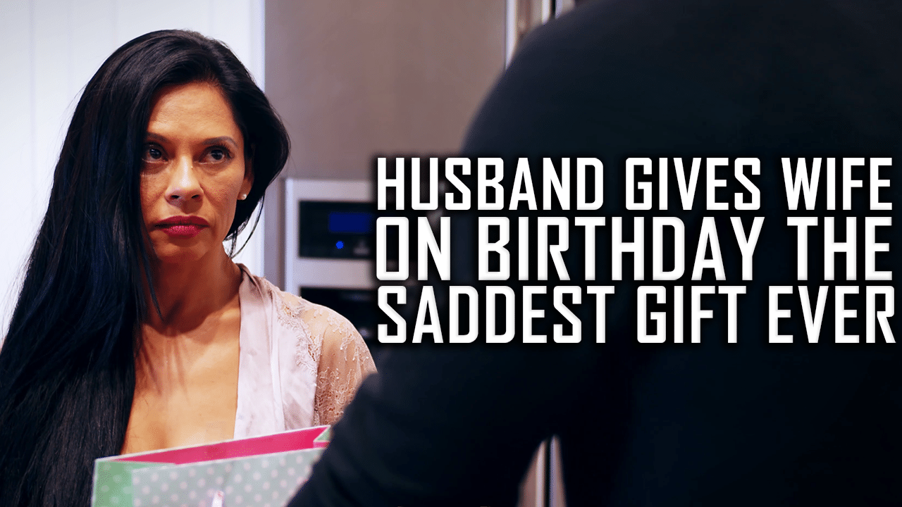 Husband Gives Wife On Birthday The Saddest Gift Ever