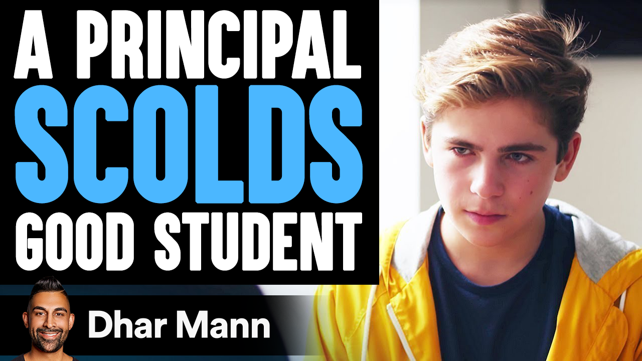 Principal Scolds This Student What Happens Next Is So Shocking
