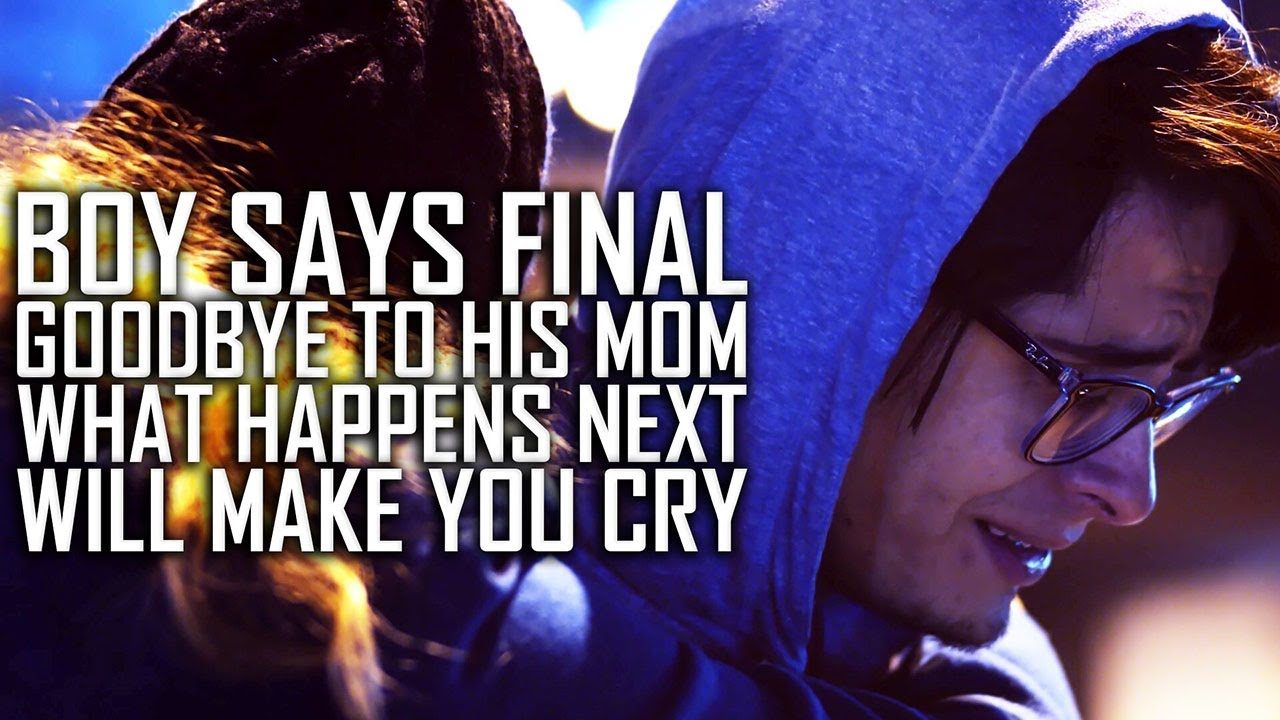 Boy Says Final Goodbye To His Mom, What Happens Next Will Make You Cry
