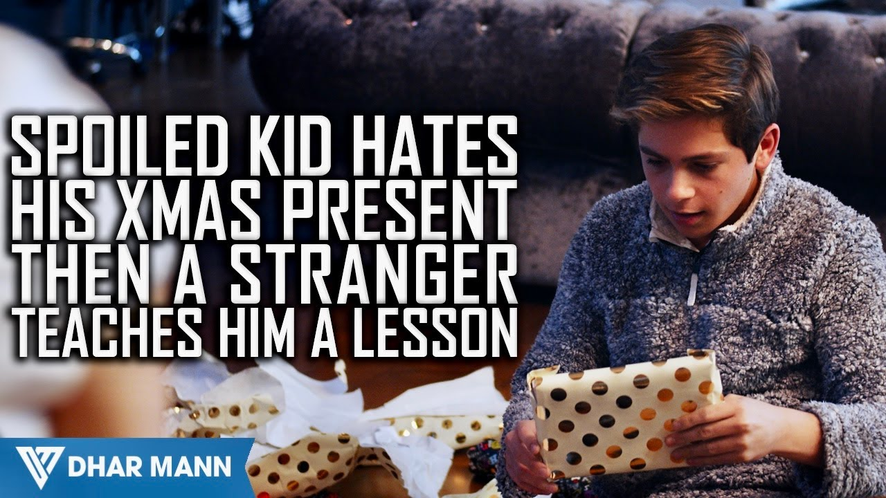 Spoiled Kid Hates His Present Until He Learns Shocking Truth