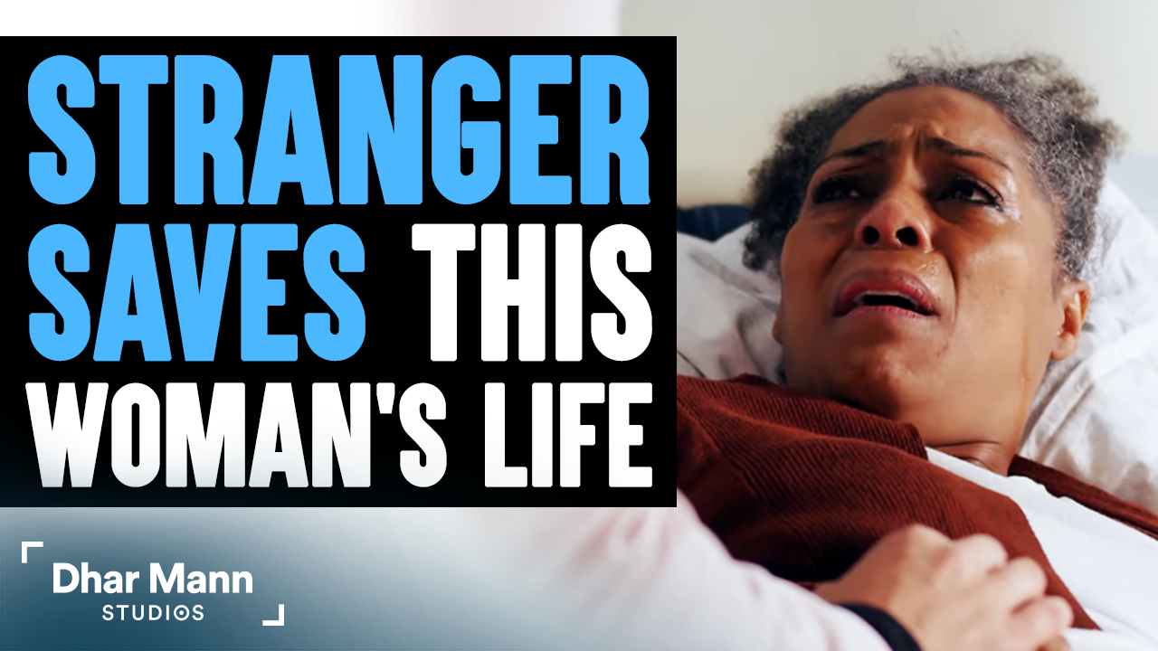 Stranger Saves This Woman's Life, What She Does Will Shock You