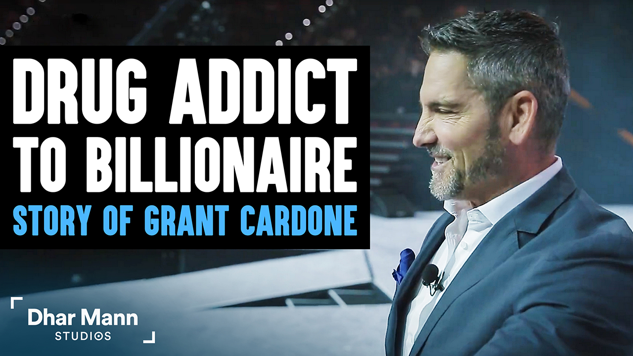 From Drug Addict To Billion Dollar Empire: The Shocking Life Story Of Grant Cardone