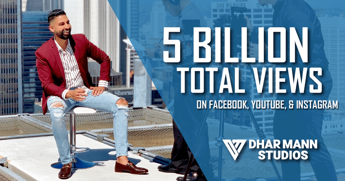 Dhar Mann Studios 5 billion views achievement
