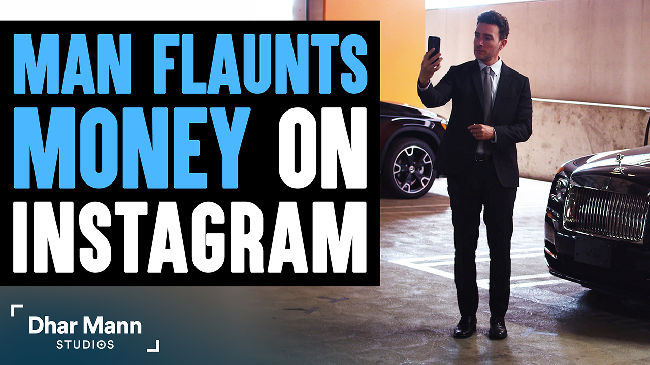 Man Flaunts Money On Instagram, What Happens Next Will Shock You
