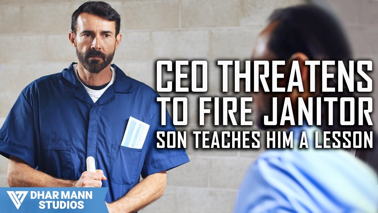 CEO Threatens To Fire Janitor, Son Teaches Him A Lesson
