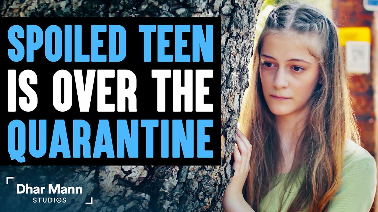 Spoiled Teen Sick Of Quarantine, Stranger Teachers Her A Lesson