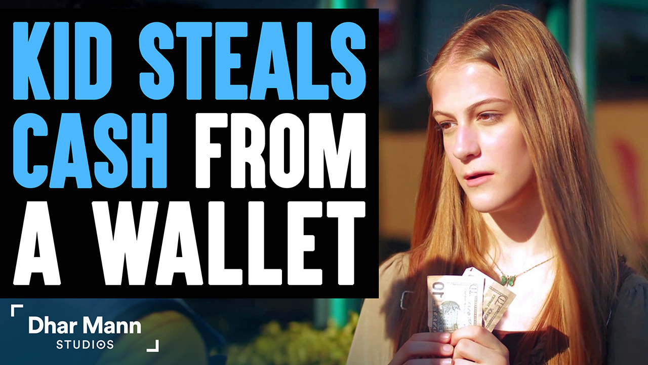Kid Steals Money From A Wallet, Stranger Teaches Her A Lesson