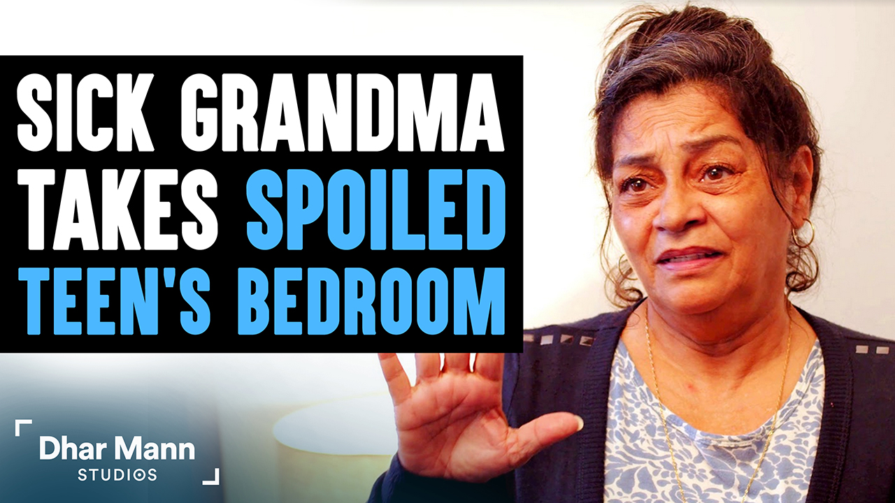 Sick Grandma Takes Spoiled Teen's Bedroom, What Teen Does Next Will Break Your Heart