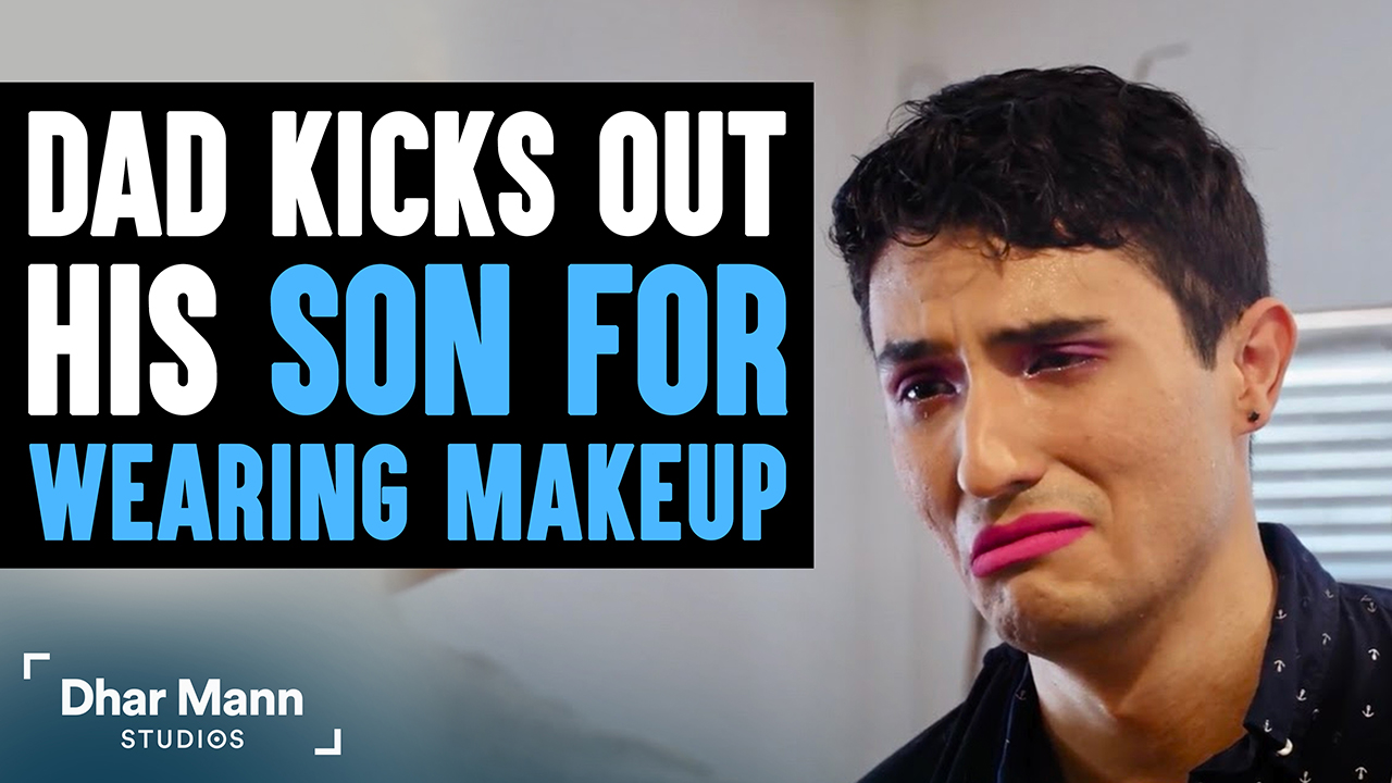 Dad Kicks Out Son For Using LiveGlam Makeup, What Happens Is Shocking
