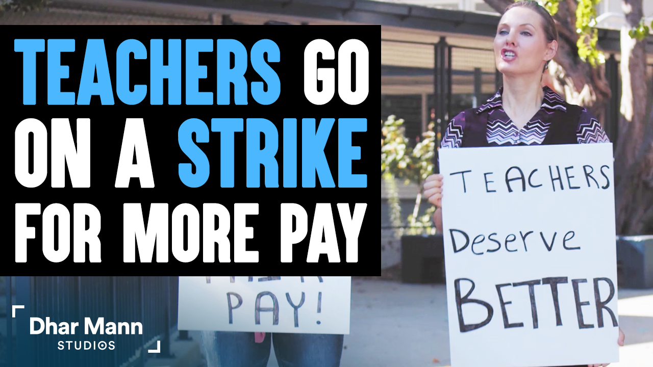 Teacher Goes On Strike For More Pay, What Happens Next Is Shocking