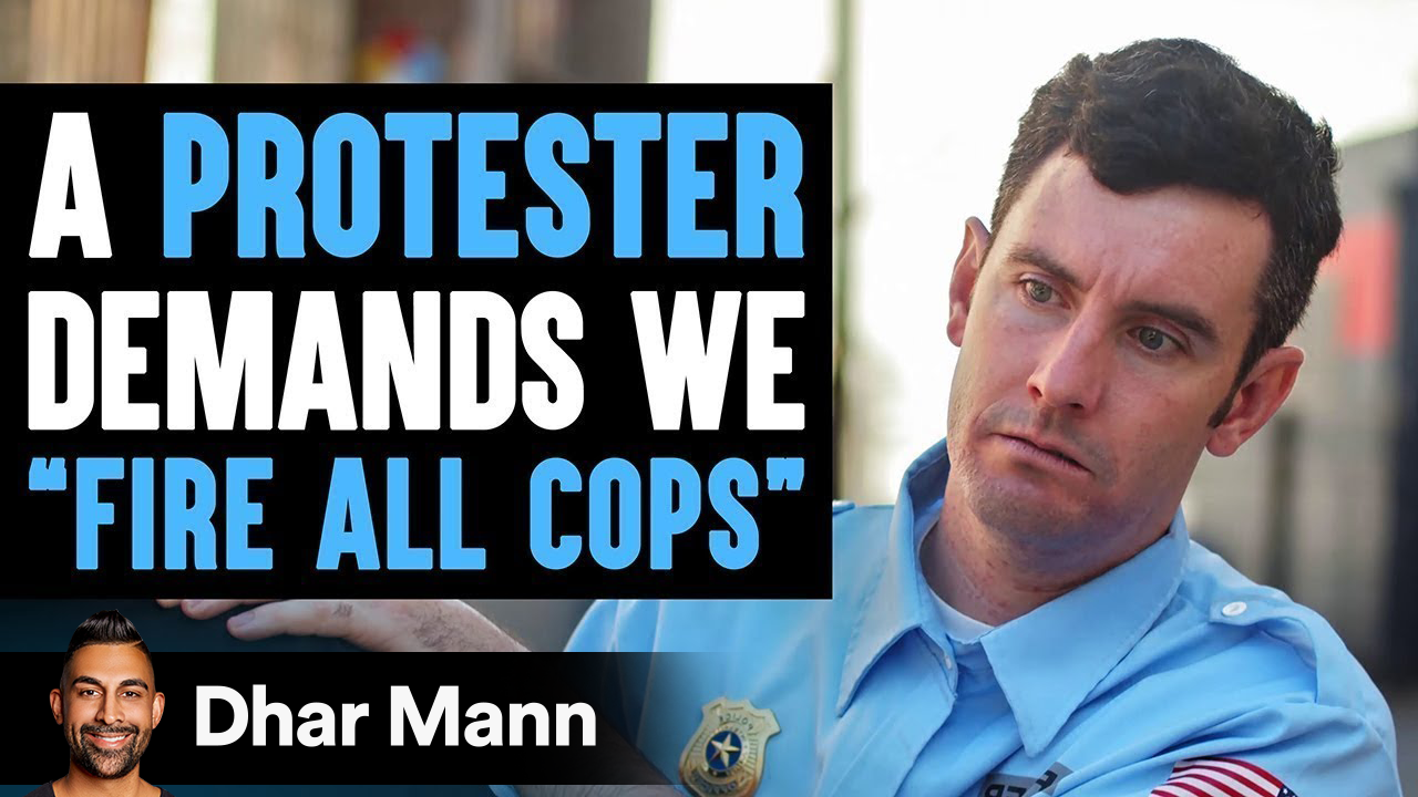 """Protester Wants To """"Fire All Cops"""", She Instantly Regrets Her Decision"""
