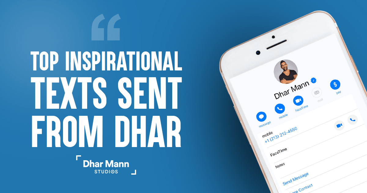 Dhar Mann Best Quote Texts
