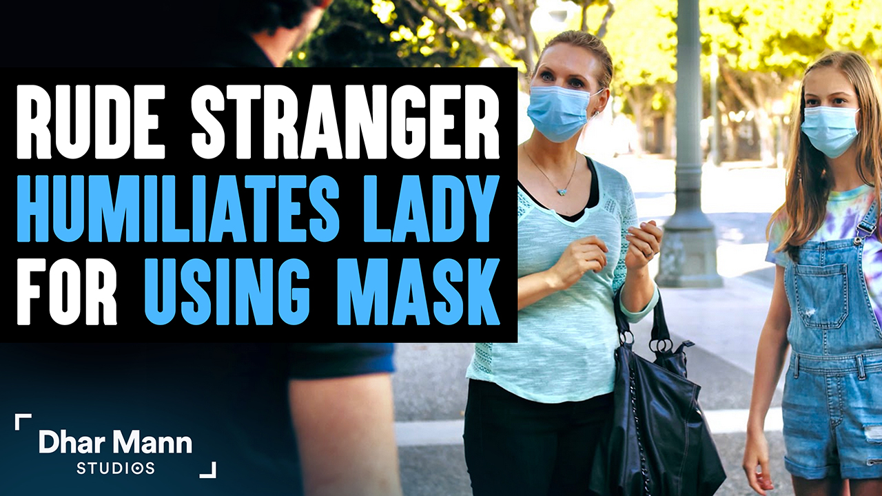 Stranger Humiliates Lady For Wearing Mask, What Happens Next Will Shock You