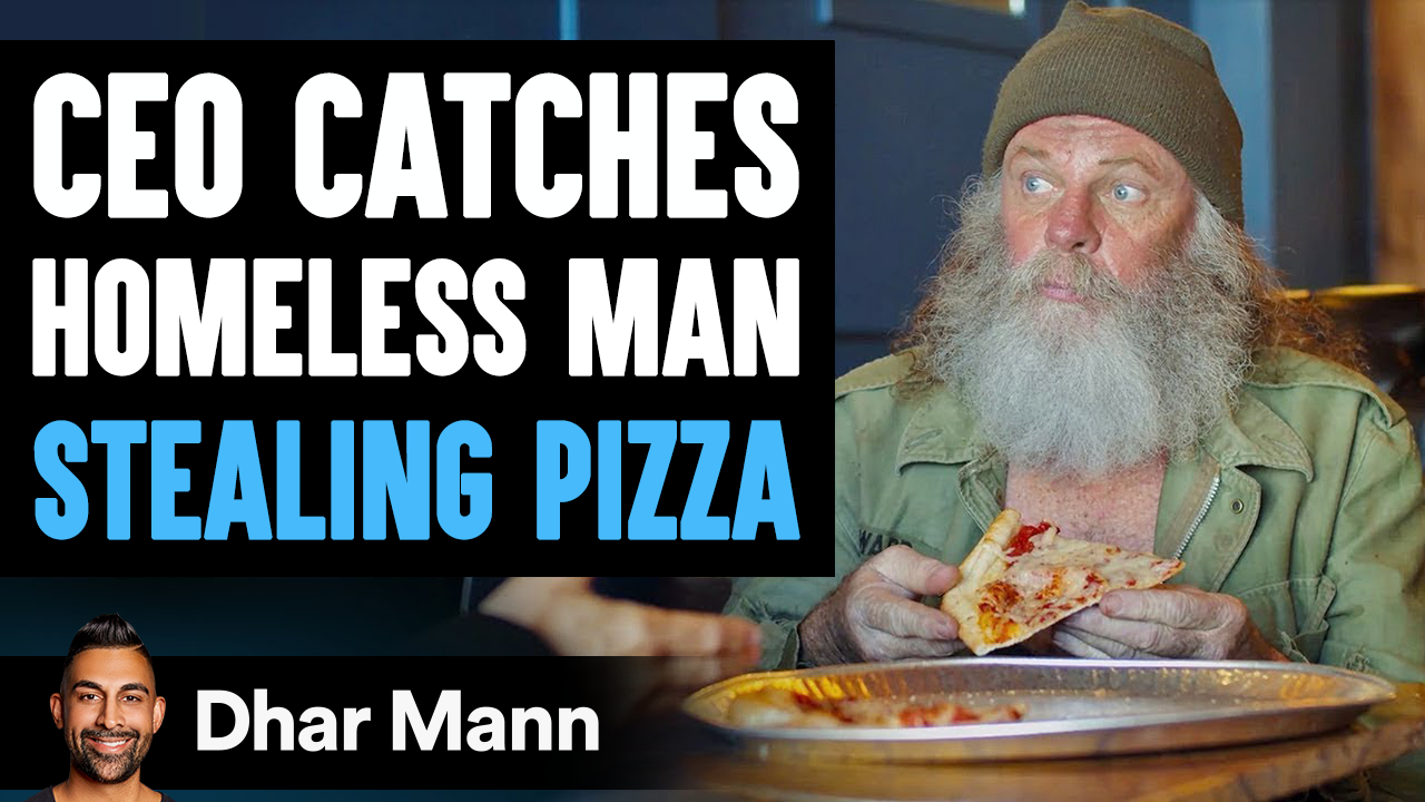 CEO Catches A Homeless Man Stealing Pizza, The Ending Will Shock You