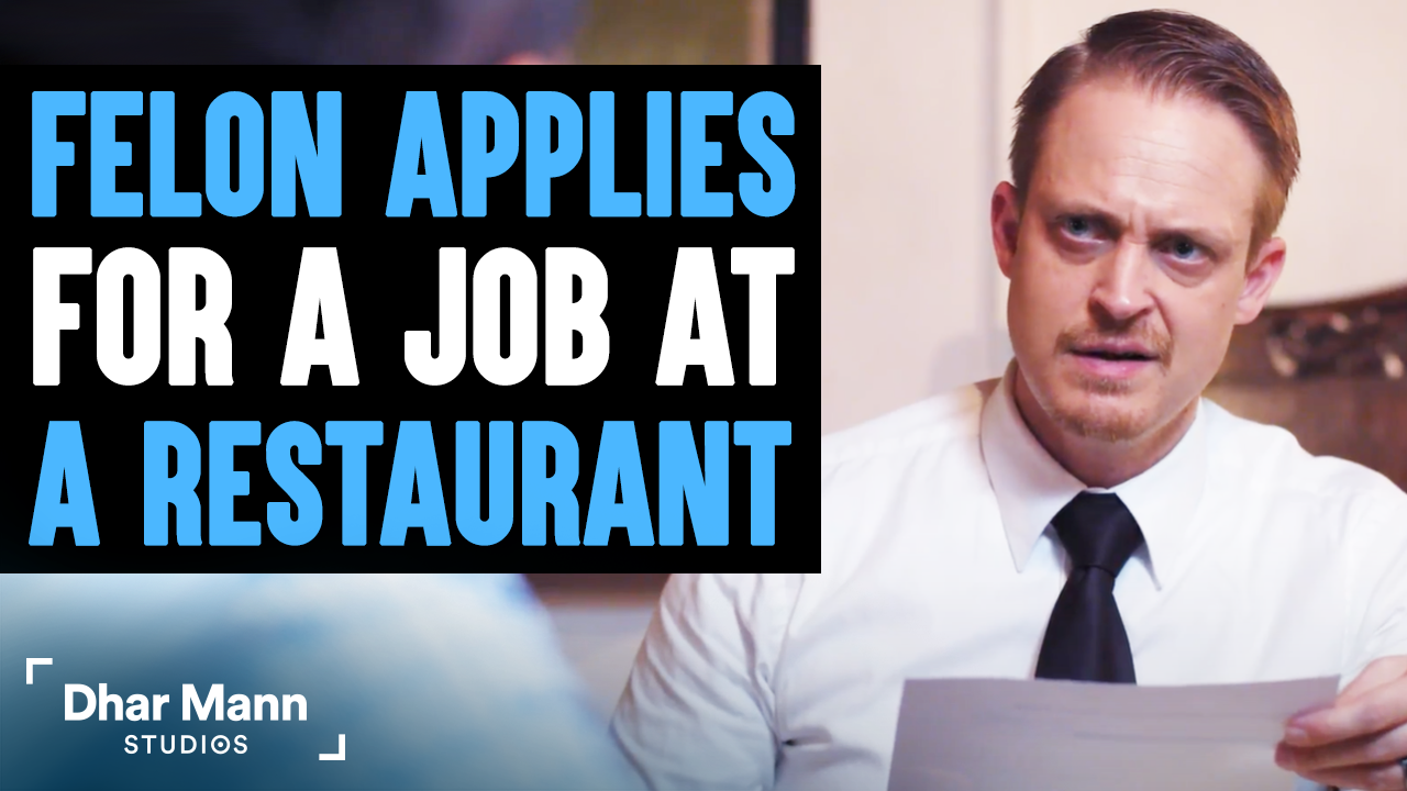 Criminal Applies For A Job At Restaurant, What Happens Next Is Shocking