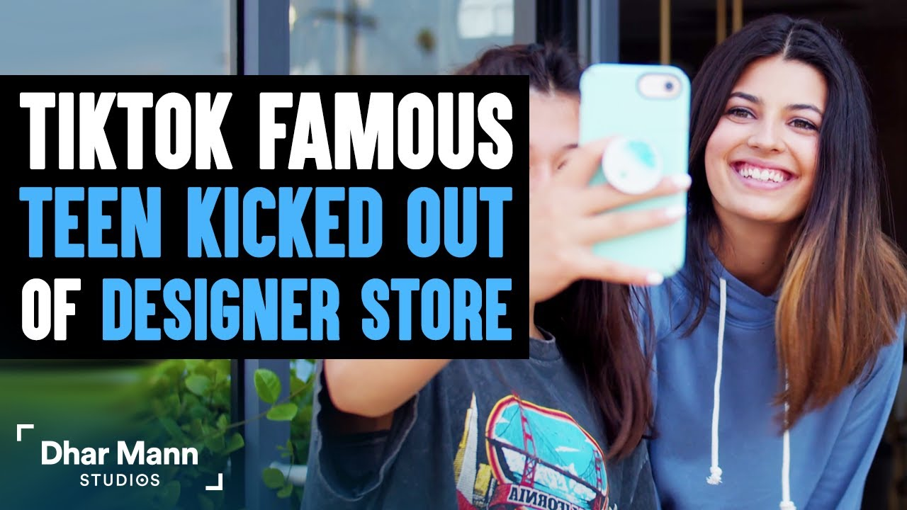 TikTok Famous Teen Kicked Out Of Designer Store, Owner Lives In Regret