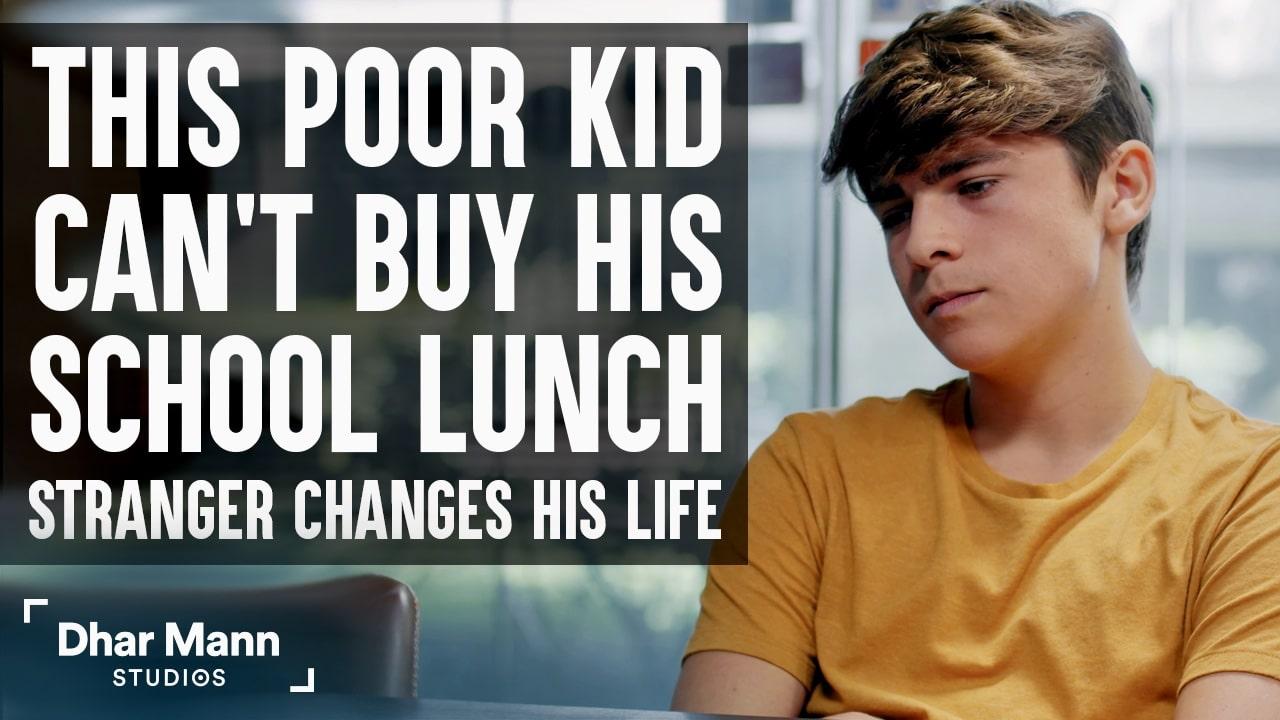 This Poor Kid Can't Buy School Lunch, Ending Is Shocking