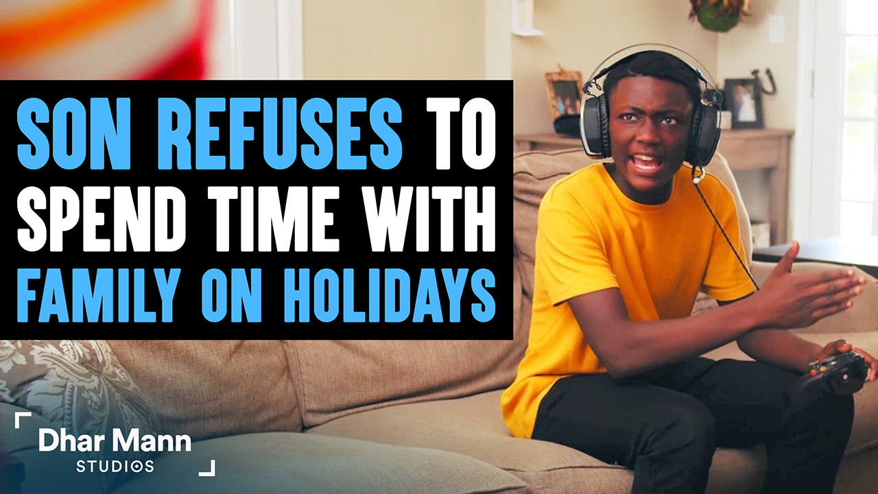 Son Refuses To Spend Time With Family On Holidays, He Instantly Regrets It