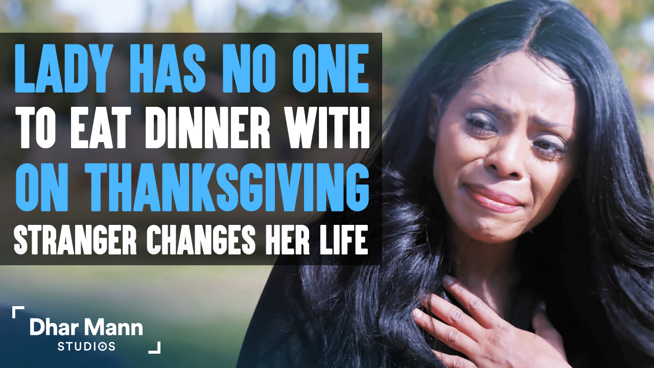 Lady Has No One To Eat Dinner With On Thanksgiving, Stranger Changes Her Life
