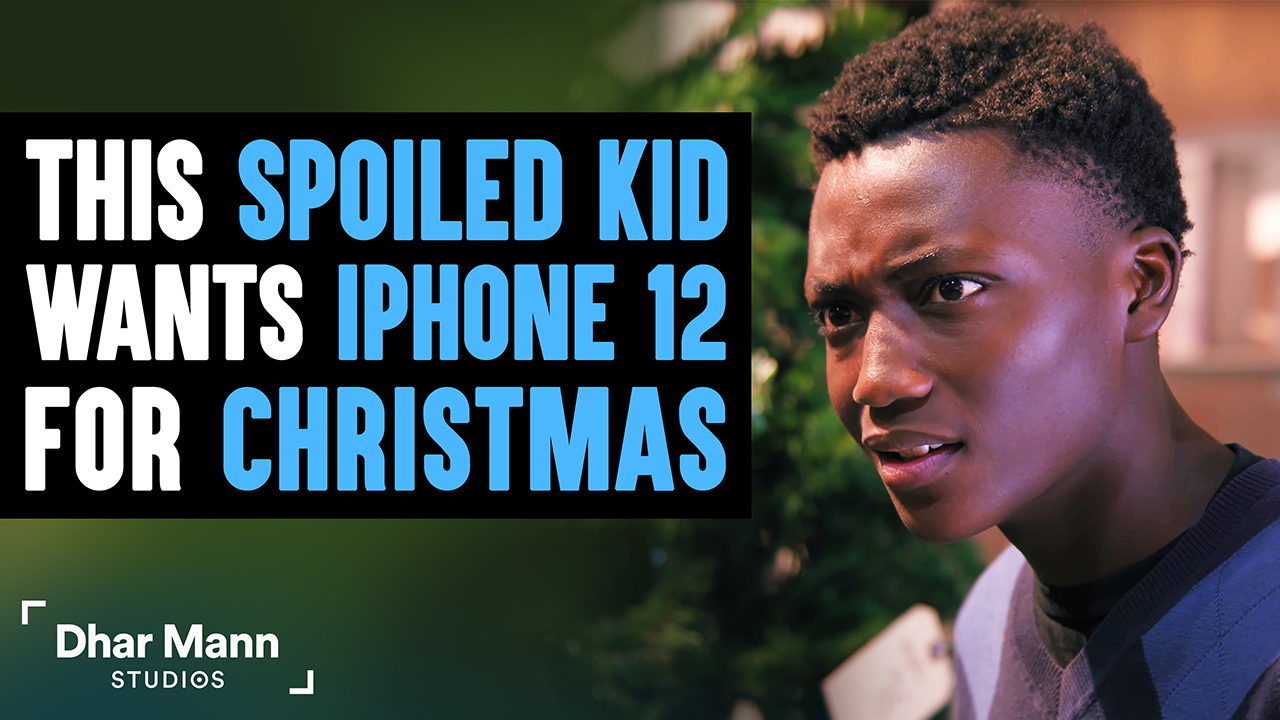 This Spoiled Kid Wants An iPhone 12 For Christmas, Instantly Regrets It