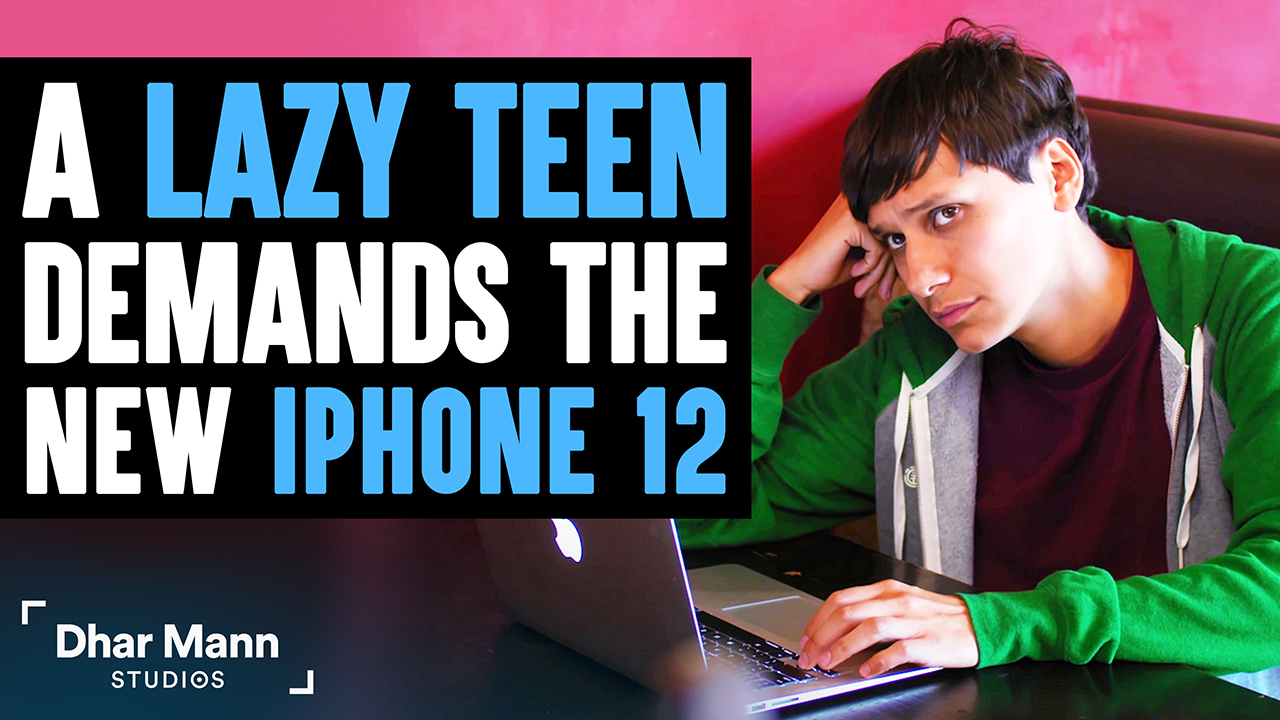 Lazy Teen Demands The New iPhone 12, Gets Taught A Lesson