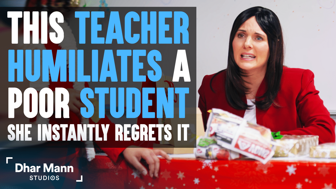 This Teacher Humiliates A Poor Student, She Instantly Regrets It