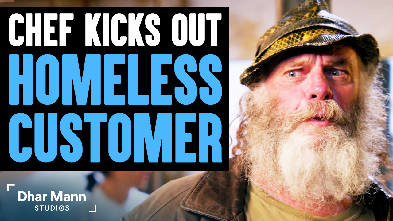 Chef Kicks Out Homeless Customer, What Happens Next Will Shock You