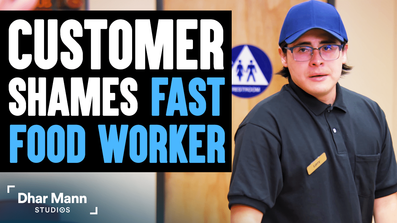 Customer Shames Fast Food Worker, Instantly Regrets It