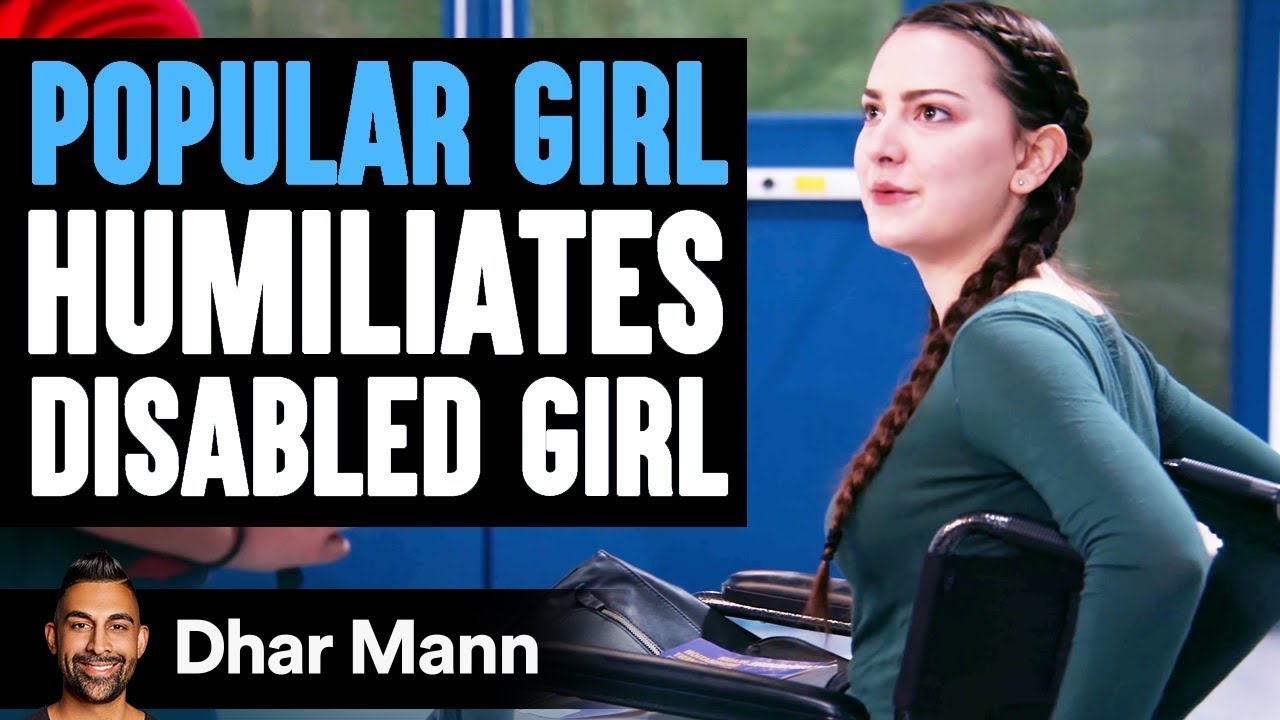 Popular Girl Humiliates Disabled Girl, She Instantly Regrets It