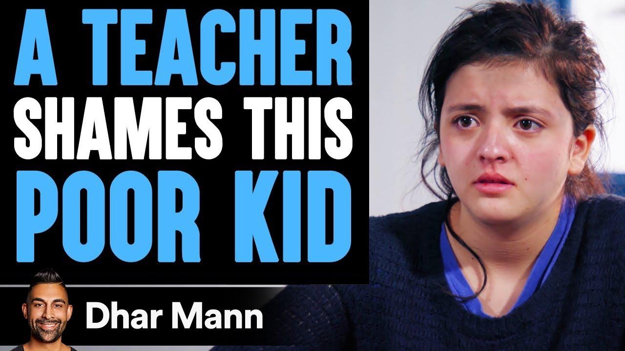 Teacher Shames Poor Kid In Class, Instantly Regrets It