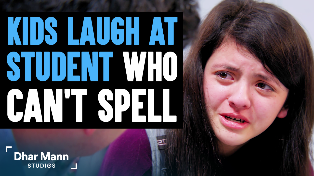 Kids Laugh At Student Who Can't Spell, They Instantly Regret It