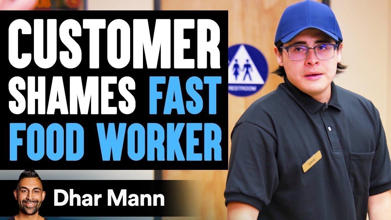 Customer Shames Fast Food Worker, Instantly Regrets It