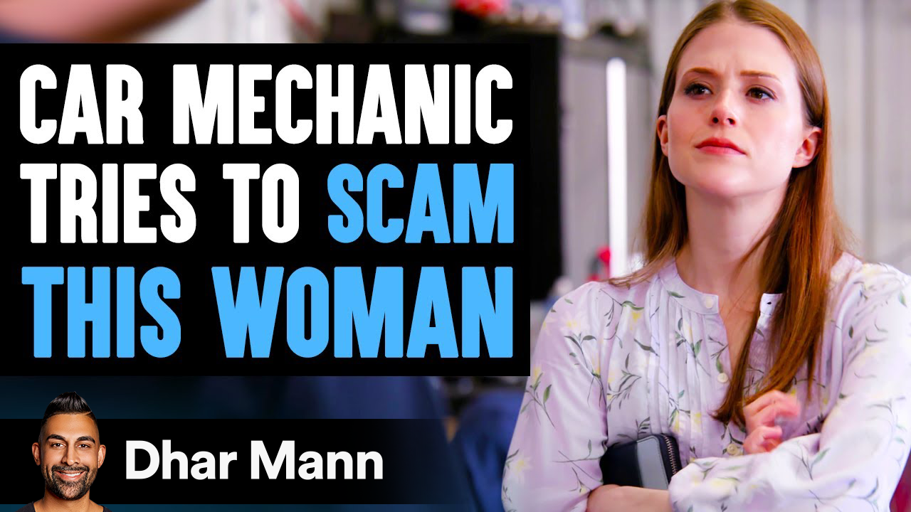 Car Mechanic Tries To SCAM A WOMAN, Instantly Regrets It