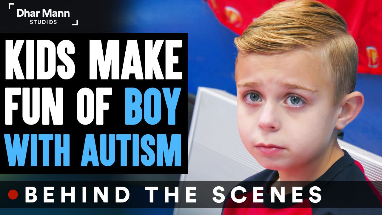 Kids MAKE FUN OF Boy With AUTISM (Behind-The-Scenes)