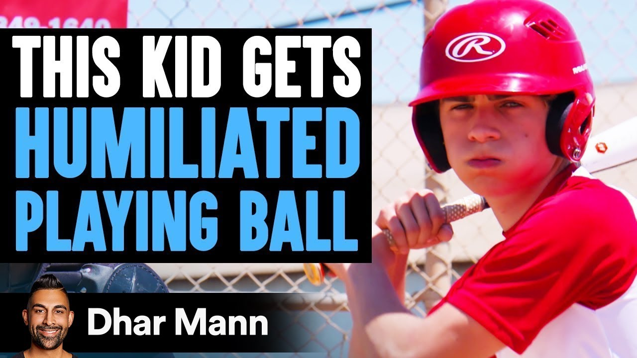 KID Gets HUMILIATED Playing Ball, What Happens Next Is Shocking