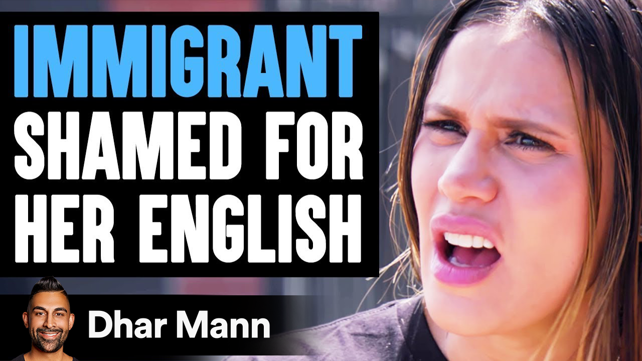Immigrant SHAMED FOR Her ENGLISH ft. The Royalty Family