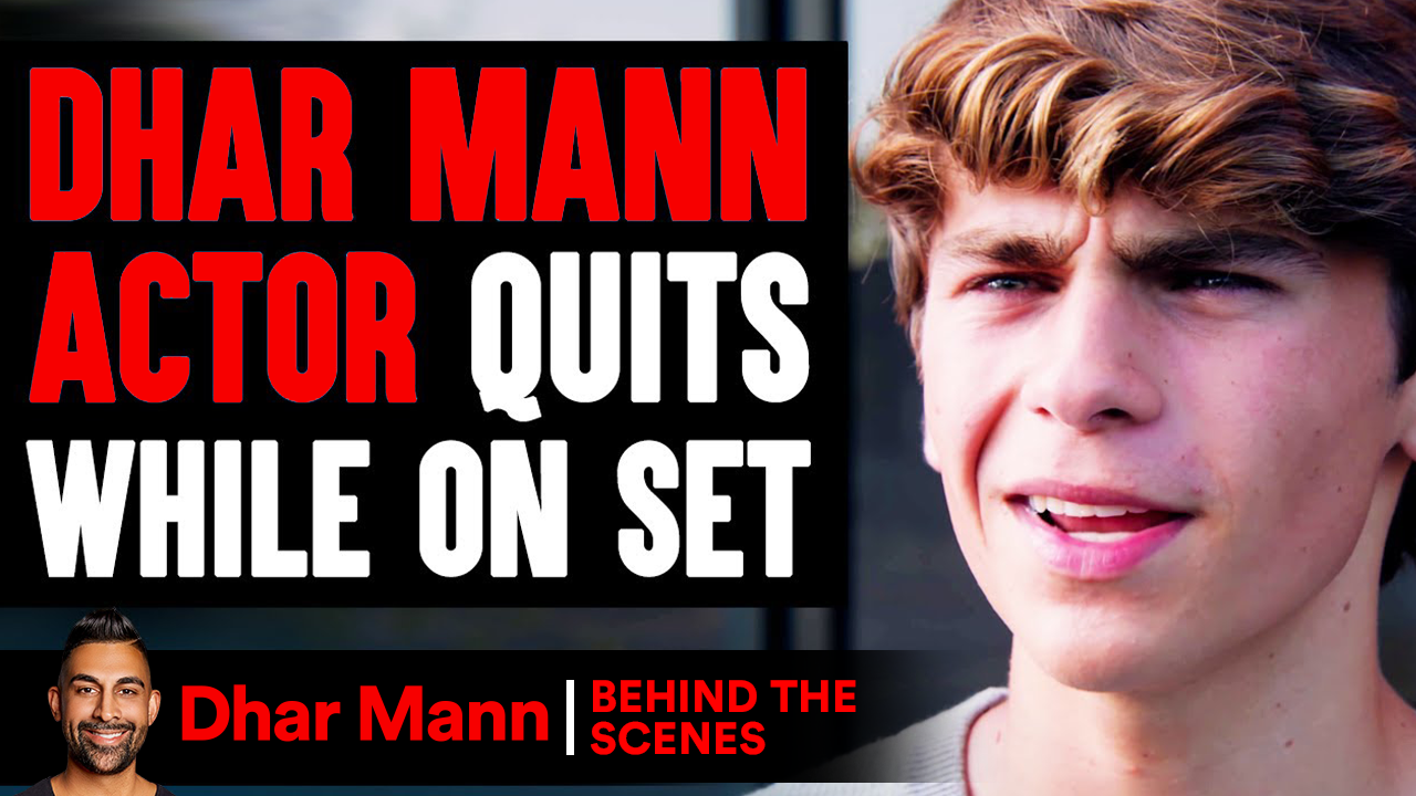 Dhar Mann Actor Quits While On Set (Behind-The-Scenes)