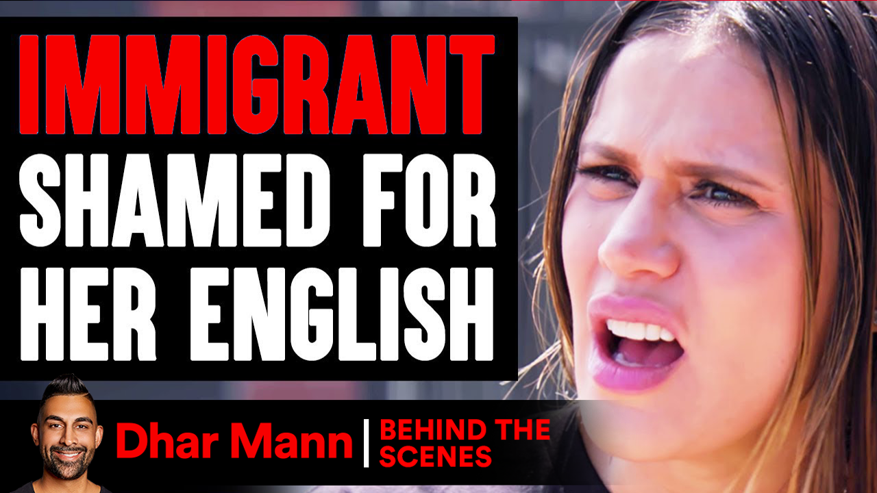 Immigrant SHAMED FOR Her ENGLISH ft. The Royalty Family (Behind-The-Scenes)