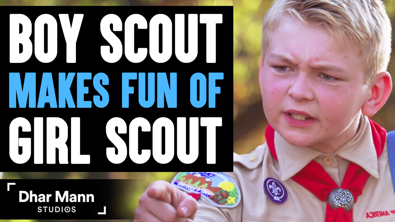 Boy Scout MAKES FUN Of GIRL SCOUT, What Happens Next Is Shocking