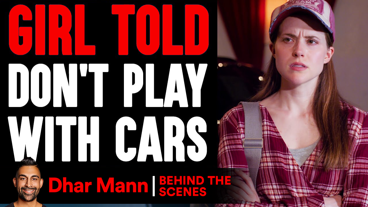 GIRL Told DON'T PLAY With Cars (Behind-The-Scenes)