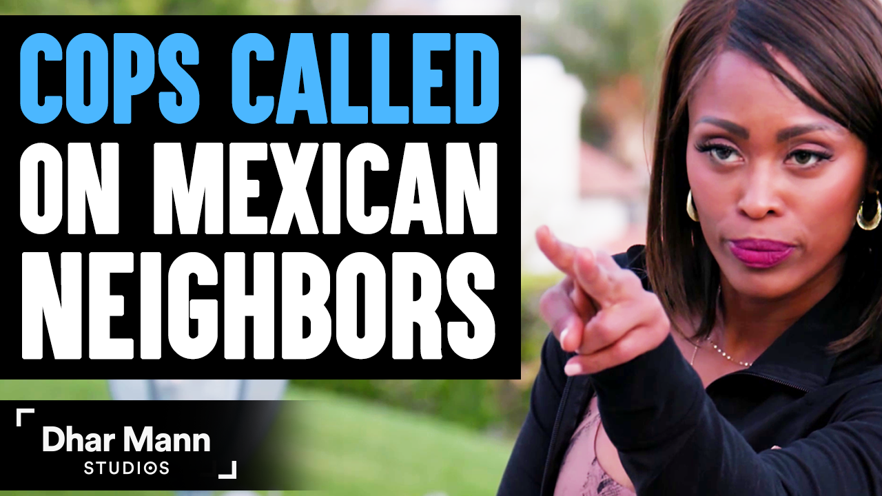 Mom CALLS COPS On MEXICAN Neighbors, She Instantly Regrets It