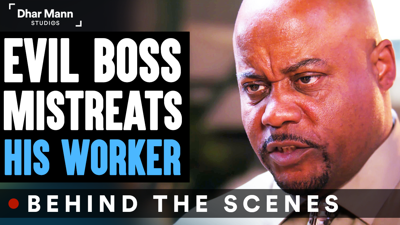 Evil BOSS MISTREATS His WORKER (Behind-The-Scenes) ft. Benny Soliven