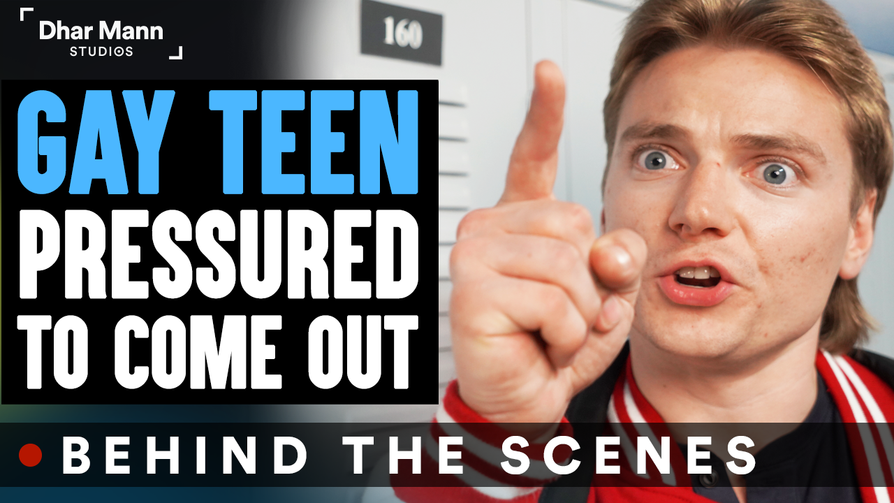 GAY TEEN Pressured To COME OUT (Behind-The-Scenes)