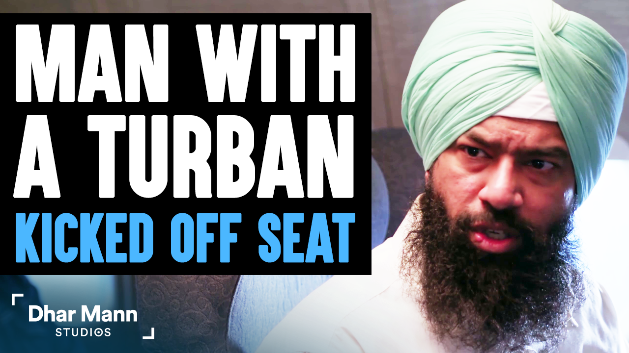 Man With TURBAN Kicked OFF SEAT, What Happens Is Shocking