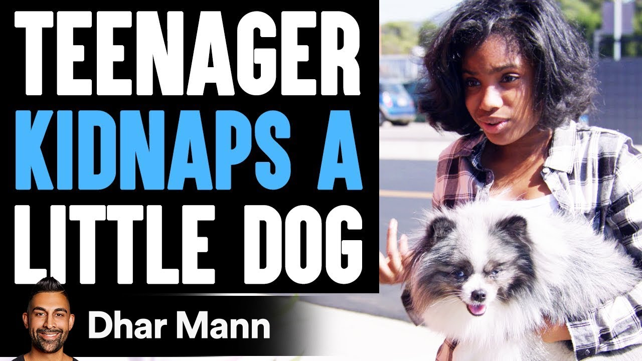 Teenager KIDNAPS A LITTLE DOG, What Happens Next Is Shocking